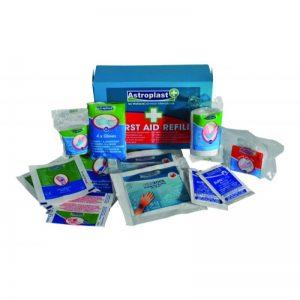 burns first aid kit refill