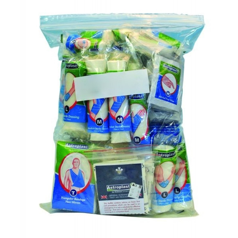 20 person first aid kit refill