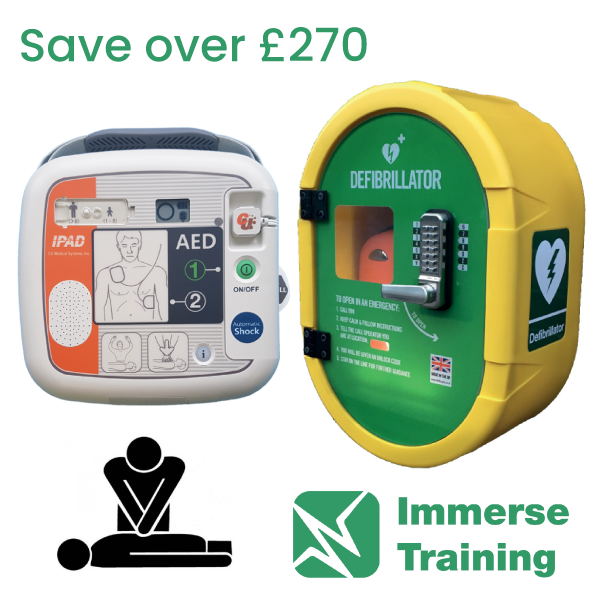 CU Medical i-PAD SP1 AED, DefibSafe2