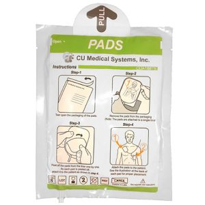 CU Medical i-PAD SP1 and SP2 Automated External Defibrillator Multi-Functional (Adult/Child) Electrode Pads